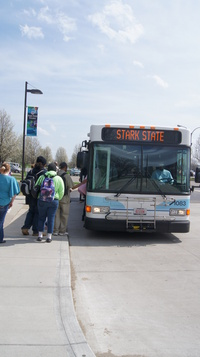 SARTA transports almost 2.7 million riders a year.
