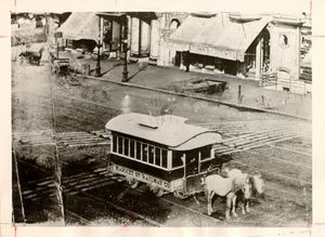 Stark County's original public transportation system began with the Canton Street Railway Company in 1884.